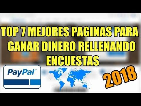 TOP 7 Mejores Páginas Para Ganar Dinero Haciendo Encuestas Por Internet Para Paypal 2019 ☑ [PAGAN]