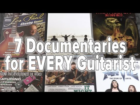 My TOP & Music DOCUMENTARIES That Guitarists & Musicians Shoud Watch