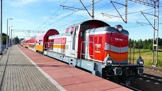 2.5h na p.o. Skowarcz-39 pociągów. Lk nr 9 & 260. 9.06.2018 r.