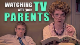 Watching TV with your Parents - Foil Arms and Hog