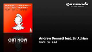 Andrew Bennett feat. Sir Adrian - Run Till U Shine (Instrumental Mix) (ARMD1075)