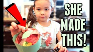 SHE MADE THIS FROM SCRATCH! -  ItsJudysLife Vlogs