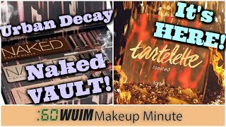 Urban Decay Naked VAULT Vol 4! + Tartelette TOASTED is HERE! | Makekup Minute