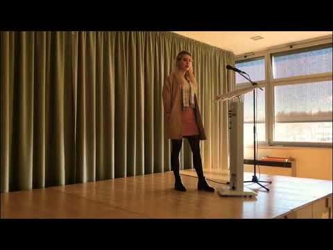 Die Welt, In Der Wir Leben - Poetry Slam Written By Romy Fabsits (BORG Güssing)