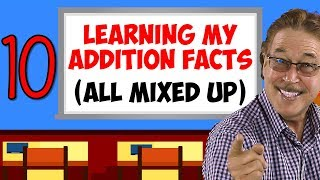 Learning My Addition Facts (All Mixed Up) | Addition Facts for 10 | Jack Hartmann