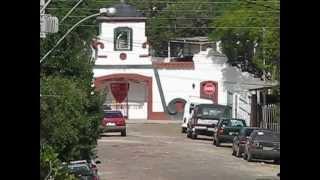 Vista do Esporte Clube Tamoio em Viamão