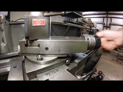 Setting the Lathe compound to precision angles