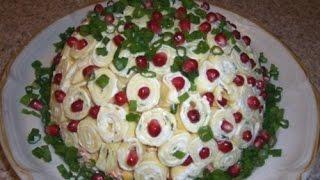 Салат с крабовыми палочками Шарлотка. Необыкновенно вкусный салат. Просто Объедение.