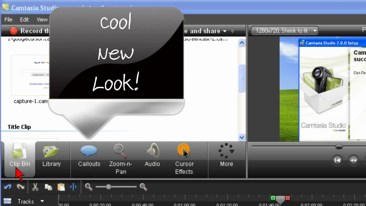 camtasia 7 preview not working