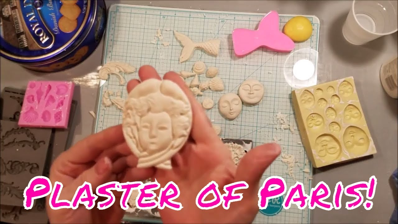 How to Use Plaster Of Paris - Molding/In Molds (Products listed below)