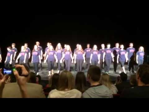 Pippin Dance at Illinois Musical Theatre Awards 2015