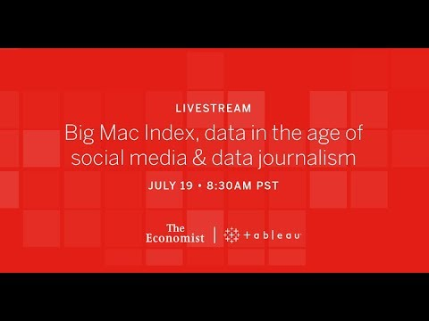 The Economist and Tableau: Data Journalism and the Big Mac Index