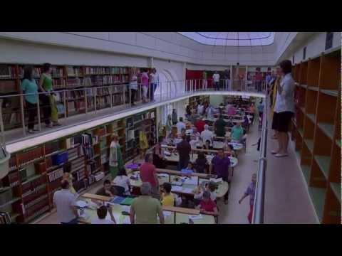 Flashmob en la Biblioteca Pública de Valladolid. Junio 2012
