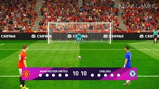 MANCHESTER UNITED vs CHELSEA FC | Penalty Shootout | Gameplay PC PES 2019