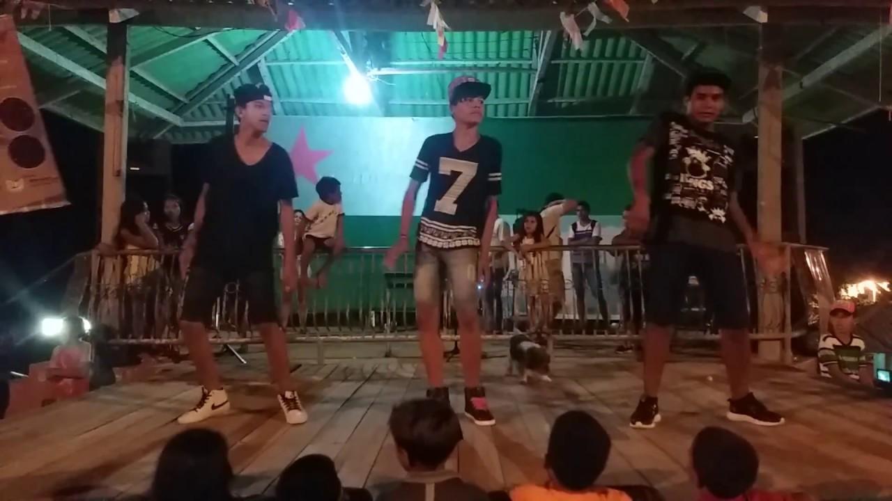 Grupo JOVENS DA ARTE  no 2° Festival do Feijão - Marechal Thaumaturgo-AC , 2017