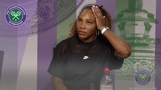 Serena Williams Wimbledon 2019 Second Round Press Conference