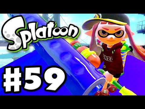 Splatoon - Gameplay Walkthrough Part 59 - Gold Dynamo Roller! (Nintendo Wii U)