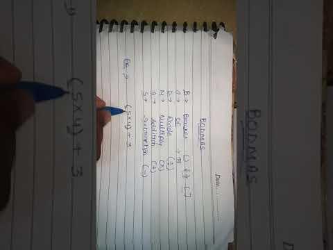 BODMAS RULE Makes Math Easy