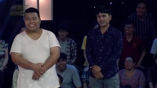 Thành - Giang nhiệt tình thị phạm cho thí sinh | THÁCH THỨC DANH HÀI | 20/11/2019 #TTDH