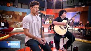 Wincent Weiss & Benni Freibott performen Musik Sein LIVE im ZDF Morgenmagazin