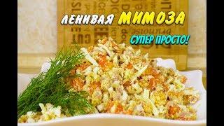 Похудела на 39 кг Лучший Рецепт Ленивая Мимоза с тунцом при похудении Салат с тунцом Ем и Худею