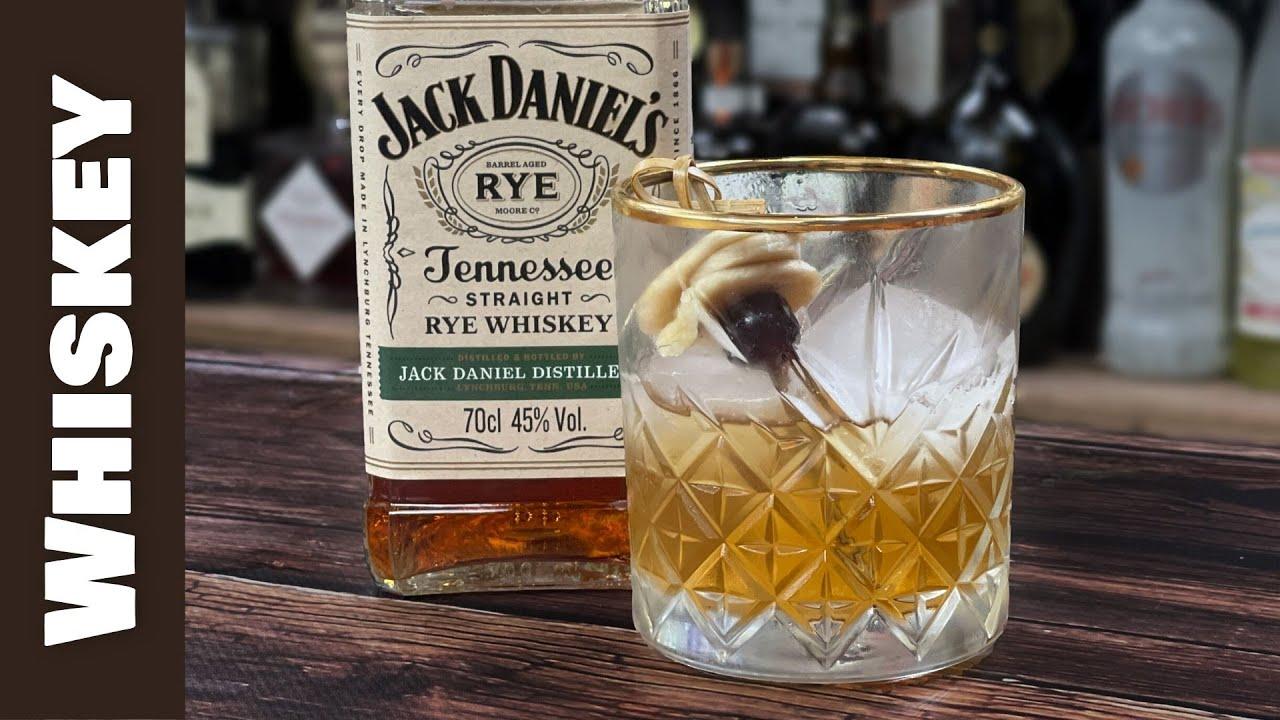 Jack Daniels Cocktails - RYE Old Fashioned with BANANA & CINNAMON