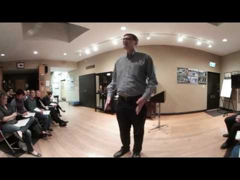 The Joy of Teaching - Vancouver Toastmasters Club Speech by Geoff Peters - 360 video