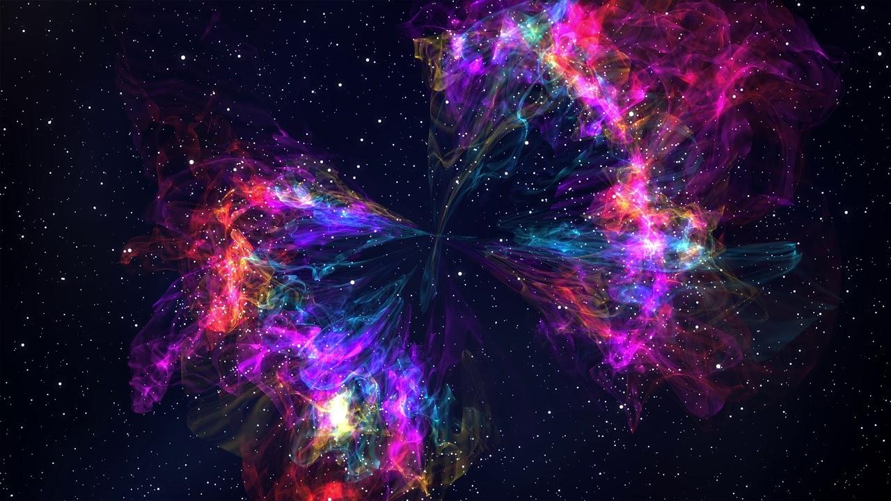 Rainbow Nebula 4K Motion Background - YouTube