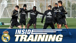 Real Madrid's final training session ahead of Éibar!