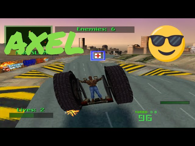 PS1 Twisted Metal 2 Intro & Gameplay