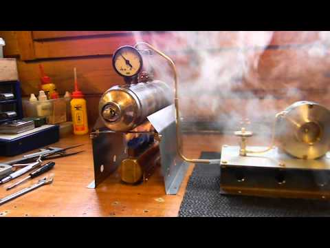 HOMEMADE STEAM TURBINE IN ACTION 2