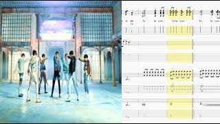 "Gambar cover BTS (방탄소년단) - ""FAKE LOVE""(Rocking Vibe Mix)기타악보(기타프로TAB)"