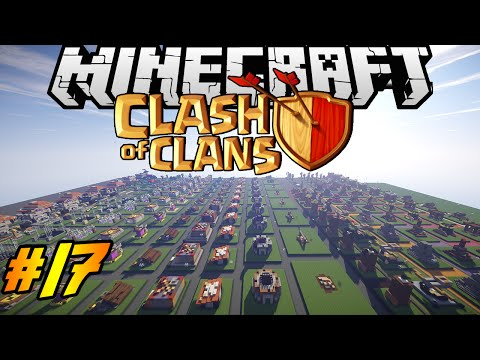 Clash of Clans in Minecraft   Making of #17   DONE!! Decorations