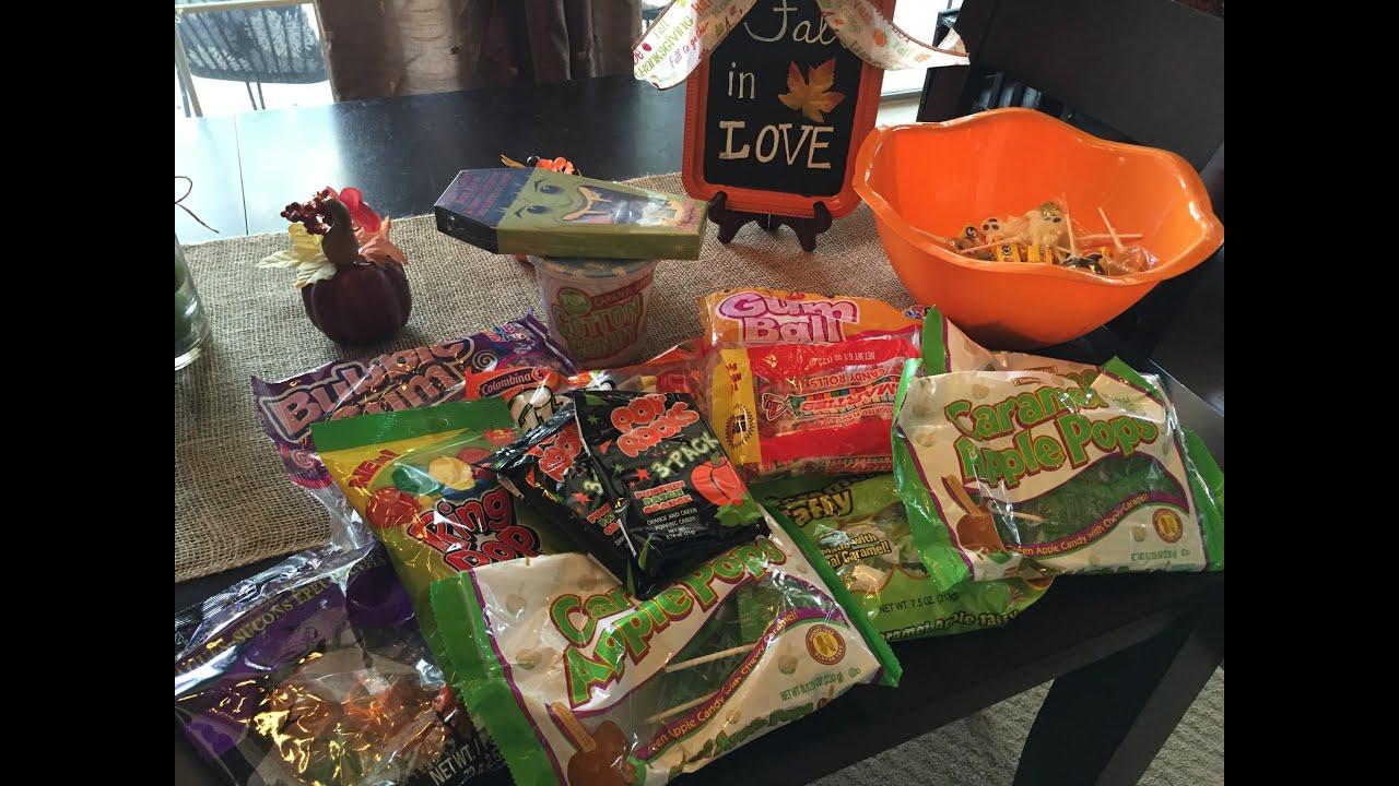 dollar tree halloween candy haul youtube - Dollar Tree Halloween