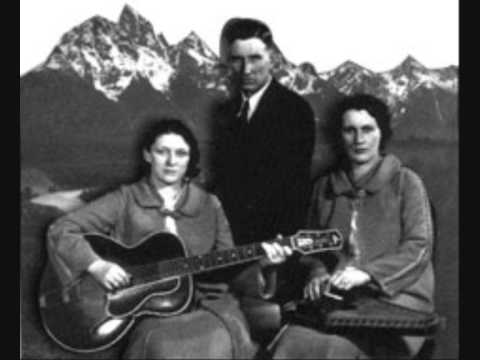 The Carter Family- Bury me under the Weeping Willow Tree.