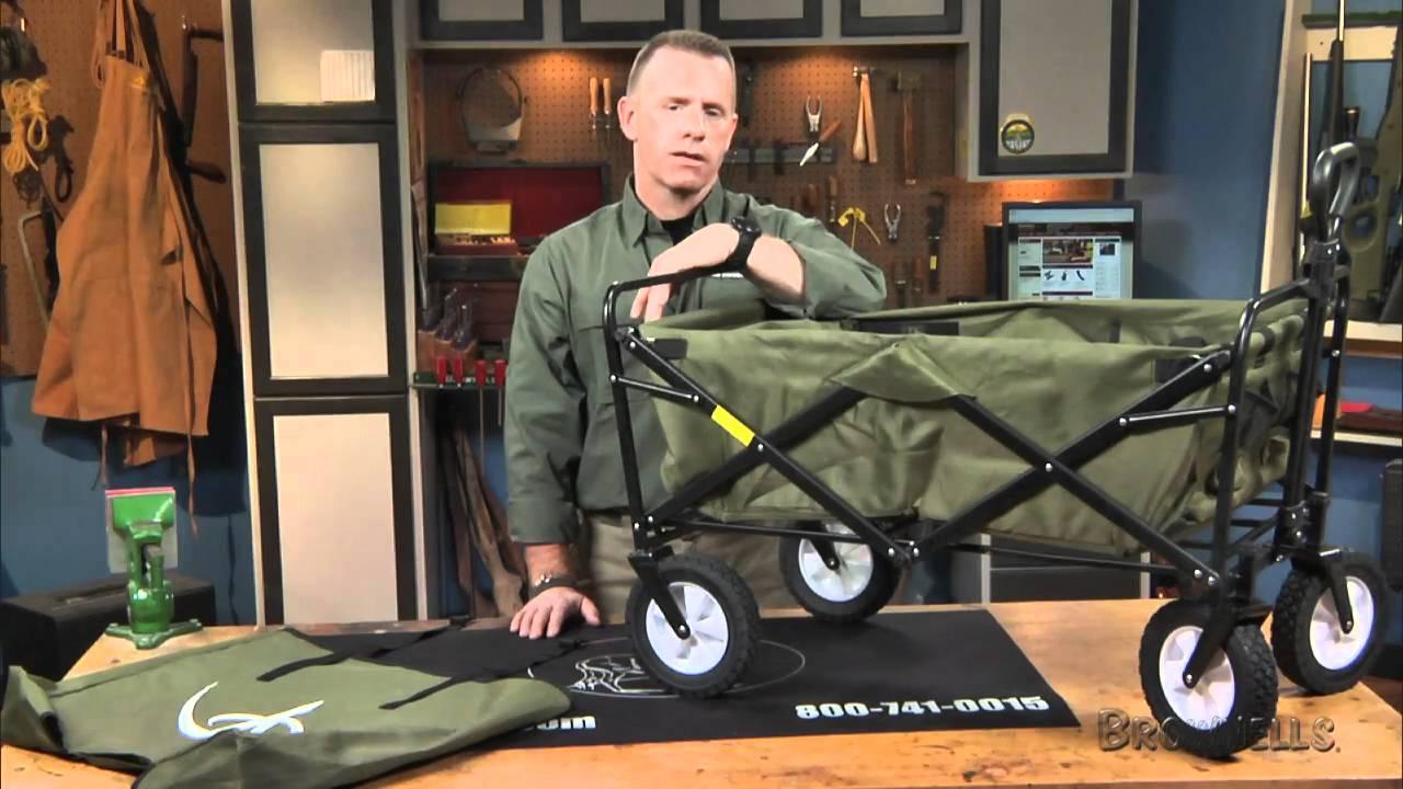 Brownells Folding Utility Wagon Youtube