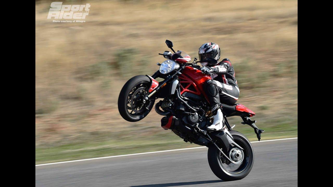 Ducati Streetfighter Tall Rider