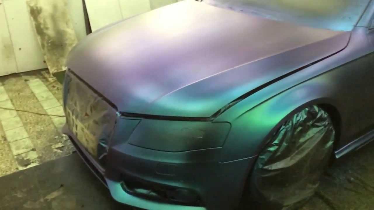 Audi a4 plasti dip chameleon youtube for Plasti dip interieur voiture