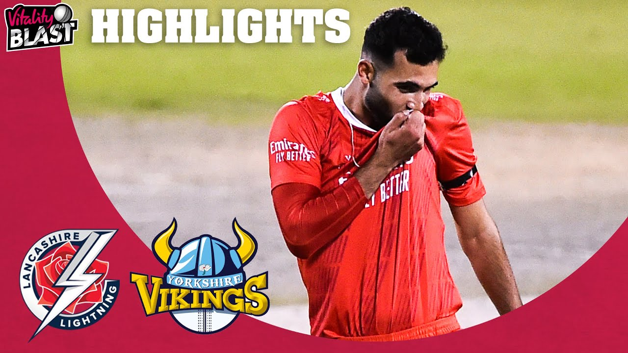 Lancashire Win Roses Thriller!   Lancashire v Yorkshire - Highlights   Vitality Blast 2020