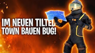 IN TILTED TOWN BAUEN BUG! 🤠 | Fortnite: Battle Royale
