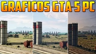 MI CONFIGURACION DE GRAFICOS - GTA V PC 60fps - Gameplay GTA 5 Online PC - (Grand Theft Auto 5)