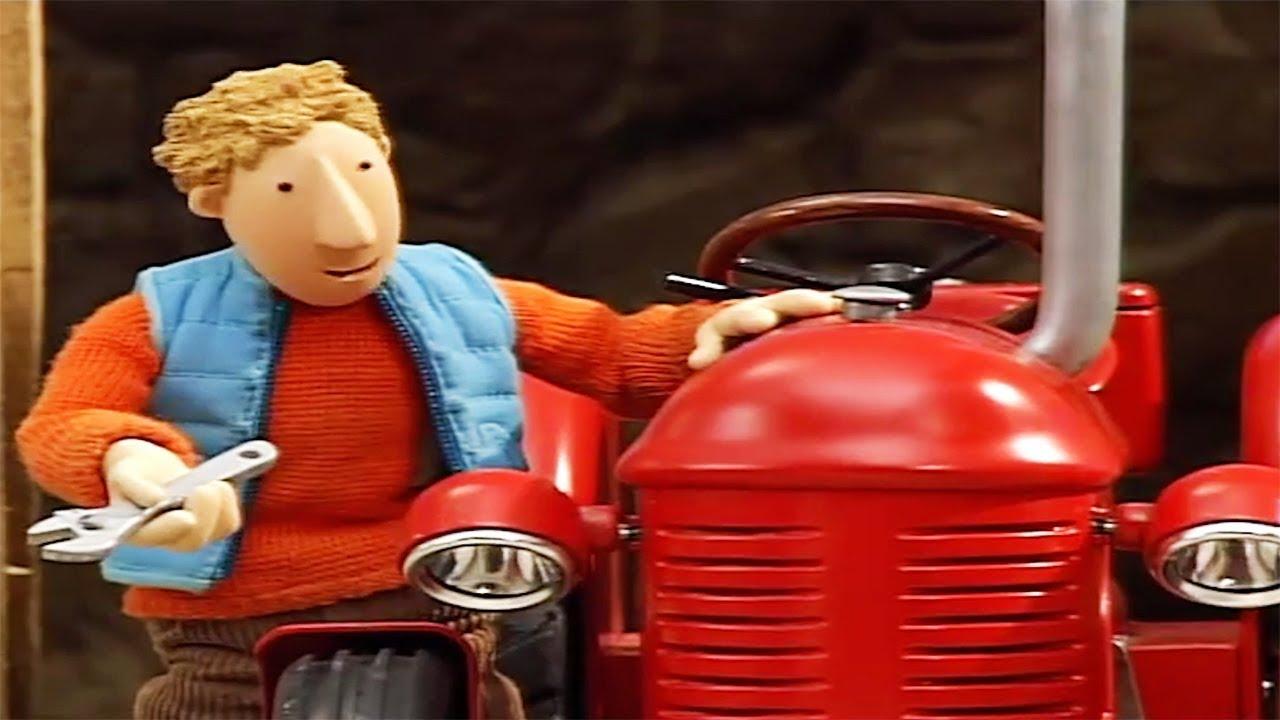 kleiner roter traktor  mach's gut großer blauer