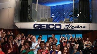 Ellen Reveals the GEICO Skybox Challenge