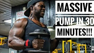 THE HARDEST 30 MINUTE ARM WORKOUT EVER
