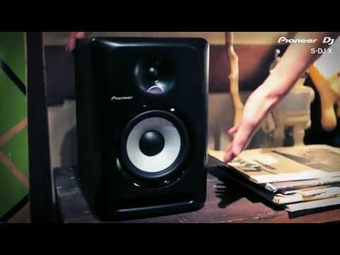 Enceinte Monitoring PIONEER S-DJ80X 160W vidéo