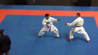 Stanislav Horuna vs Eltemur Erman - Karate1 Premier League - Dutch Open 2014