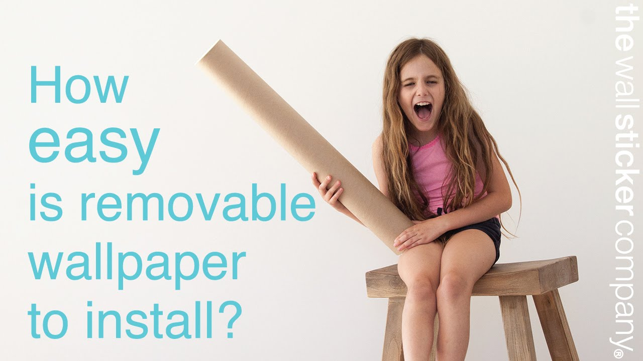 Is removable wallpaper easy to install, and how much do I need? - YouTube
