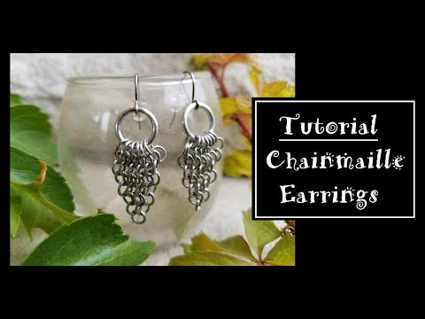 DIY Chainmail Earrings