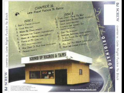 DJ Screw - Chapter 16 - Good Bye