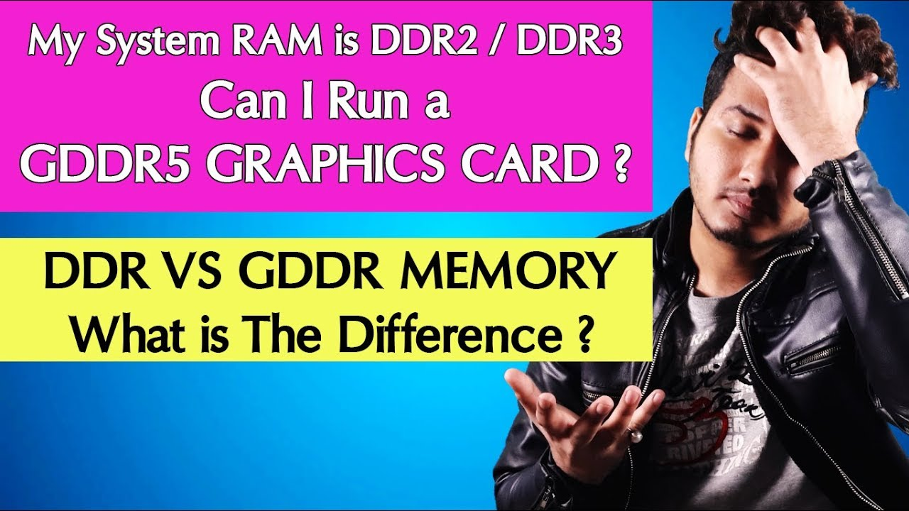 Can I Use DDR5 Graphics Card With a DDR2 Or DDR3 RAM